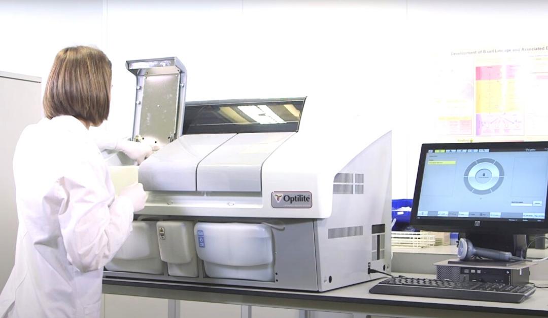 Analisador de proteínas da Binding Site otimiza o trabalho e garante segurança nos resultados
